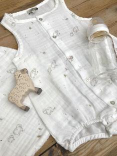 Sheep print baby romper DOUBARBOTE 21 / 21PV2411N27114